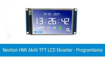 Nextion HMI Akıllı TFT LCD Ekranlar - Ekran Tasarımı - Blog Direnc Net