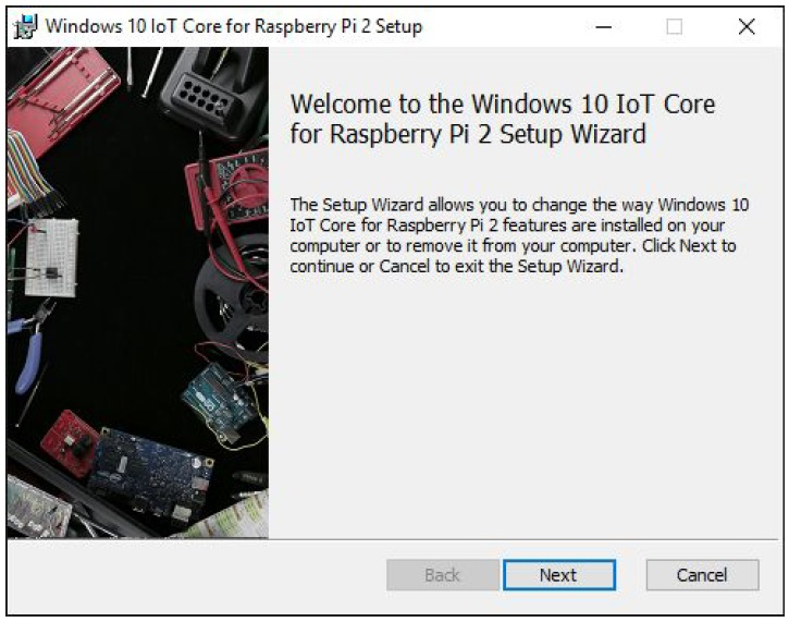 raspberry pi 3 windows 10