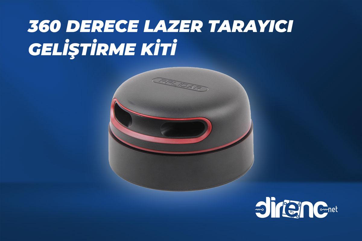 RPLIDAR – 360 Derece Lazer Tarayıcı Geliştirme Kiti