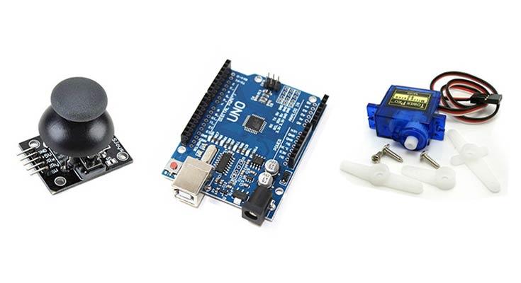 Arduino ve Joystick ile Servo Motor Kontrolü – 1
