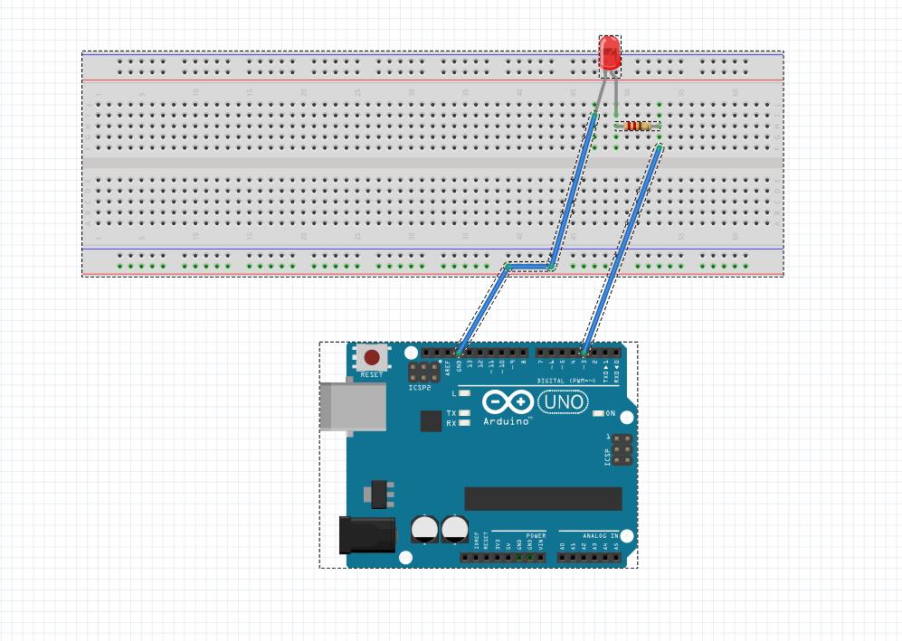 arduino led bağlantı şeması