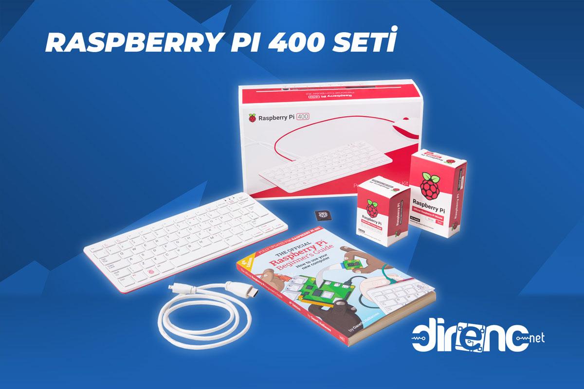 Raspberry Pi 400 Seti