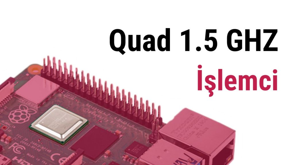 raspberry pi 4 cpu işlemci