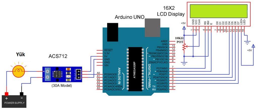 acs712 arduino schematic