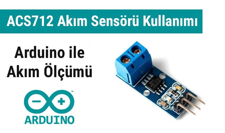 ACS712 Akım Ölçümü Arduino