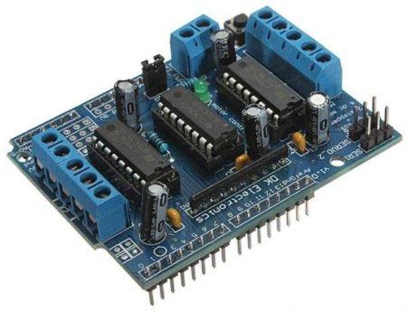 arduino-l293d-motor-shield