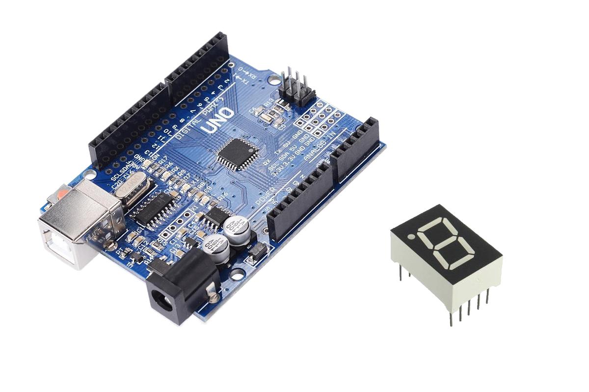 Arduino ile 7 Segment Display Kullanımı