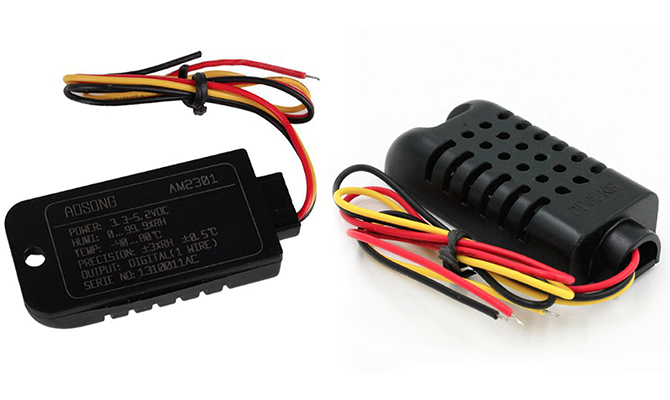 DHT21 Sıcaklık ve Nem Sensörü