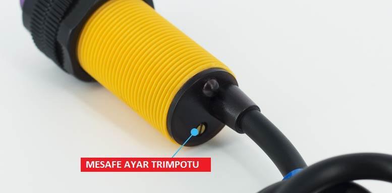 mz80 mesafe sensörü ayar trimpotu