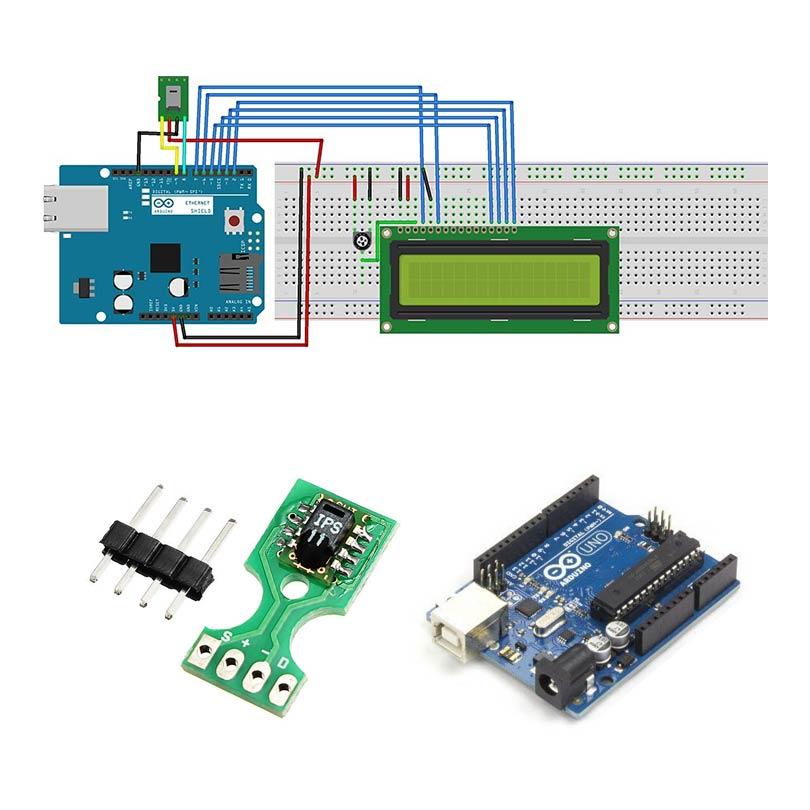 Arduino ile SHT11 Sıcaklık ve Nem Sensörü Kullanımı